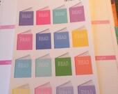"16 ""Read"" Books (Perfect for Erin Condren Life Planner)"