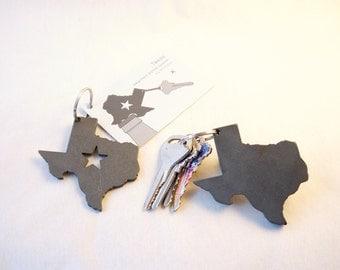 Texas keychain bottle opener