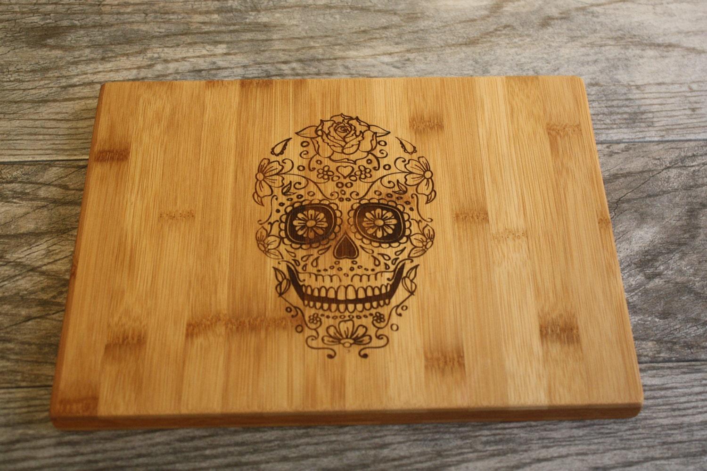 Sugar Skull Dia De Los Muertos Skull Personalized Cutting