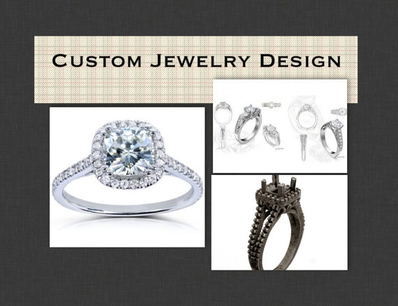 custom fine jewelry design engagement rings wedding bands