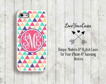 iPhone 6s Case, iPhone 6s Plus Case, iPhone 6 Case, iPhone 6 Plus Case, iPhone 5s Case, iPhone 5c Case,  Monogram Personalized iPhone 969