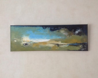 abstract painting acrylic canvas #1