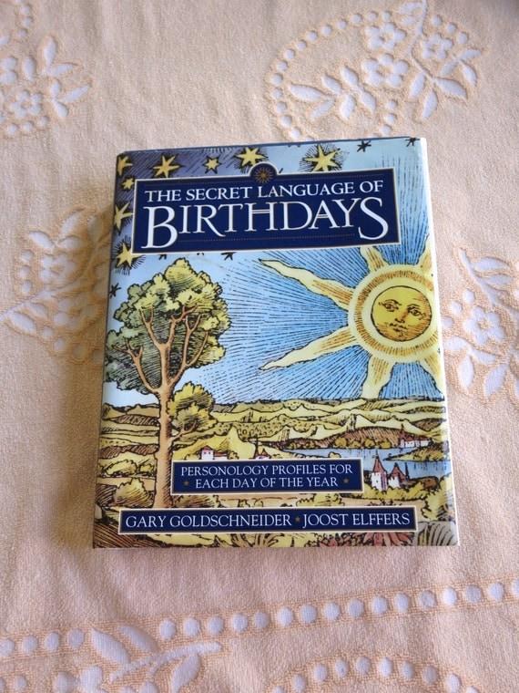 the secret language of birthdays pdf