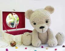 Amigurumi Baby Shower Bears : Popular items for bear crochet pattern on Etsy