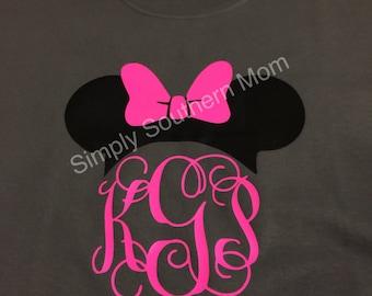 Disney Monogram Shirts