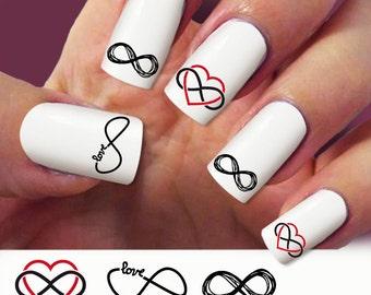 infinity nail art – Etsy