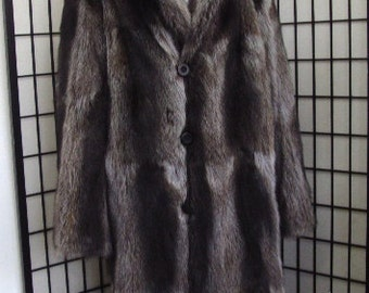 Brand new raccoon  fur coat for men man size all custom made