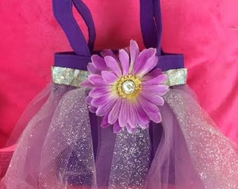 Girls Boutique Purplicious Elegant Glitzy Pageant Couture Sassy Glam Diva Party Dressy Bag