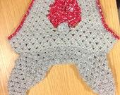 Ravelry: Diamond Trellis pattern by Marilyn Coleman  |Diamond Trellis Pattern Red Heart