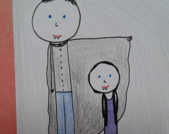 """ATC """"Daddy's Little Girl Artist Trading Card"""