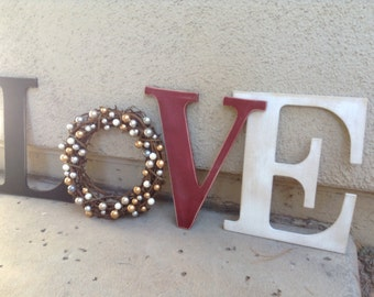 Distressed Everyday and Holiday chipboard sign