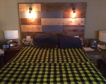 Rustic headboard (queen)