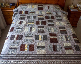 Queen quilt - Simply Neutral