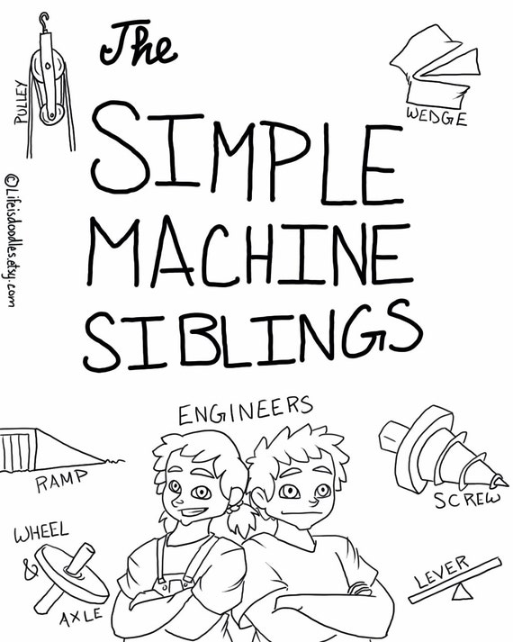 simple machine coloring pages - photo#7