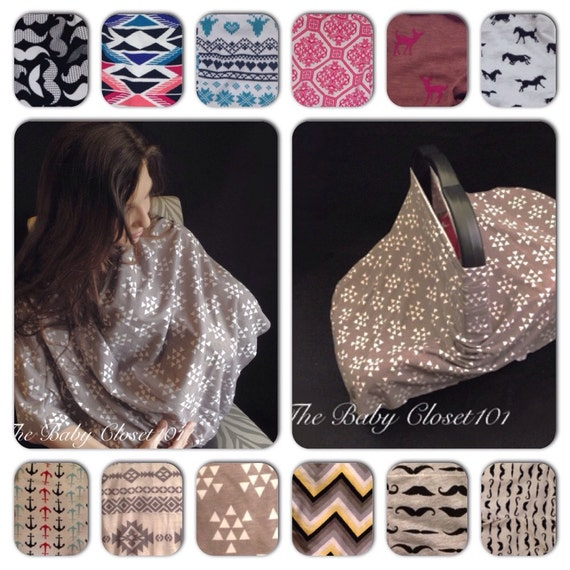 Nursing Covers on Etsy