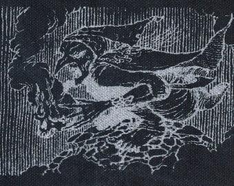 BABA YAGA punk patch witch death goddess
