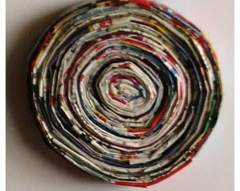 Recycled Magazine Coaster