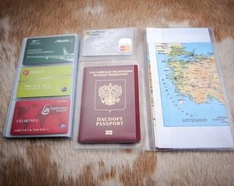 Plastic folder for Midori Traveler's Notebook - Journal Refills - FauxDori Refills -  Notebook