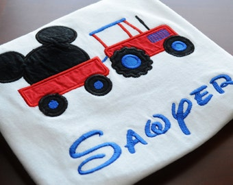Mickey Mouse Tractor T-shirt