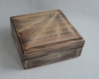 Hand made Wooden Box for Tea