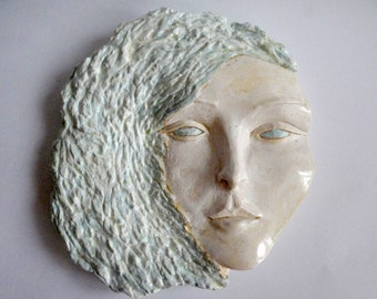 Orginal clay sculpture wall decor