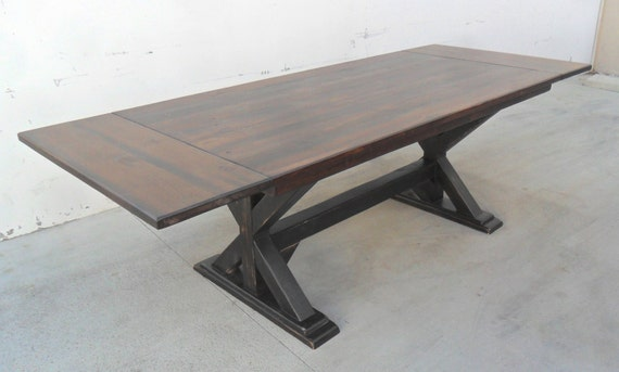 ft breadboard extension table table extension table, Dining tables