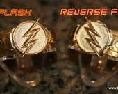 Custom Flash T.V. Inspired Flash and Reverse Flash Ring Set you get BOTH Rings.