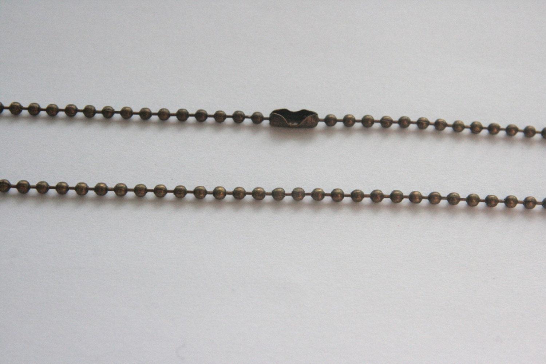 antique bronze necklace chain pendant chain antique