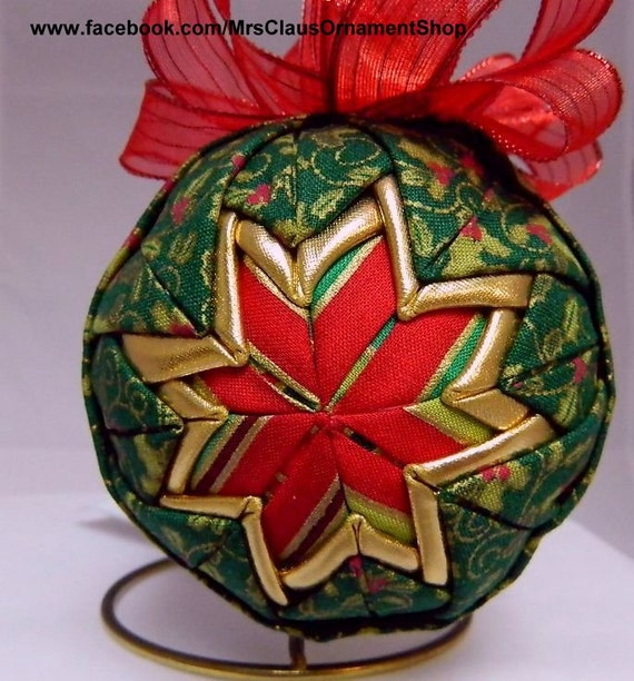how to make handmade quilted ornaments handmade quilted ornament 8458