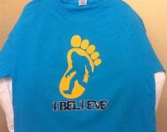 """Big Foot """"tee shirt"""""""