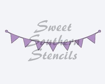 Banner stencils | Etsy