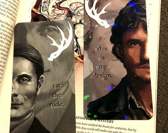HANNIBAL and WILL GRAHAM Prism Bookmarks