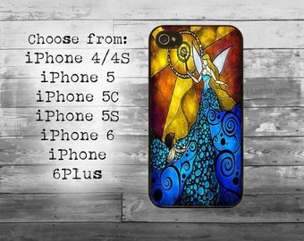 Mosaic fairy art phone cover - iPhone 4/4S, iPhone 5/5S/5C, iPhone 6/6+, iPhone 6s/6s Plus case - fairy tail mosaic iPhone case
