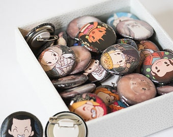 Rabbit Badges (25% sale!)