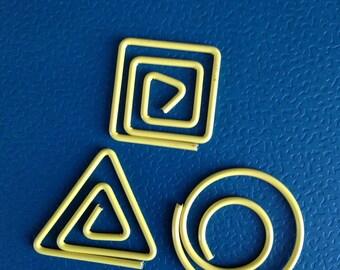 Set of 3 shapes