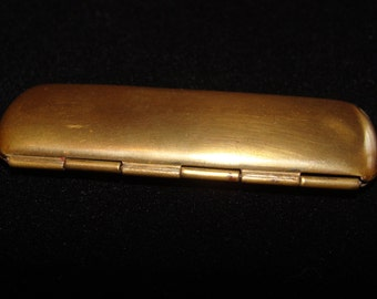 Vintage Brass Needle Holder from Germany