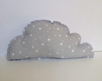 Cushion Grey Cloud