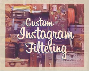 Custom Instagram Filtering