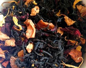 Strawberry Mango Blended Loose Leaf Black Tea