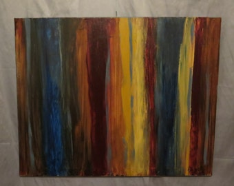 Brave; An Original Acrylic Painting on Stretched Canvas; 24x30