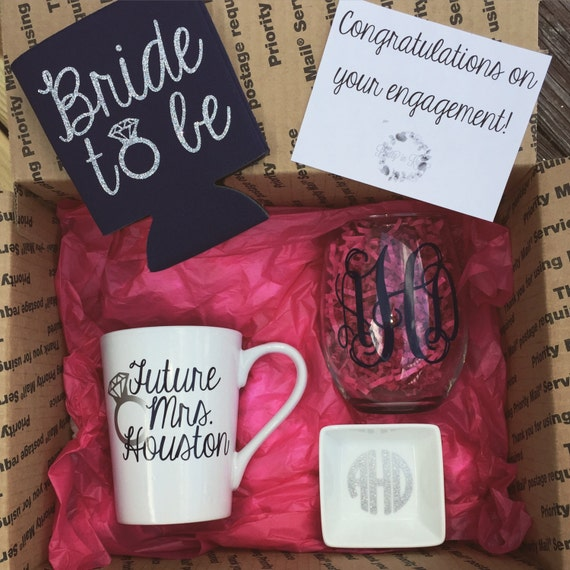 Engagement Box Congratulations on your engagement Bride to Be ...
