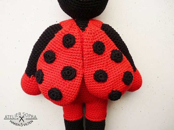 Amigurumi Pattern - Crochet Doll - PDF tutorial - Ladybird ...