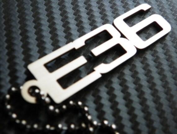 BMW E36 Keychain key tag