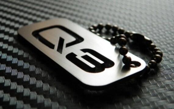 Audi Q3 Keychain key tag