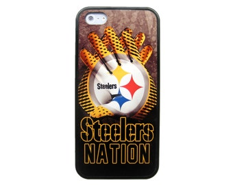 New Pittsburgh Steelers Nfl Football Protective Tpu Rubber Snap Skin Case Cover For iPhone 4S 5 5S 5C 6 6 Plus