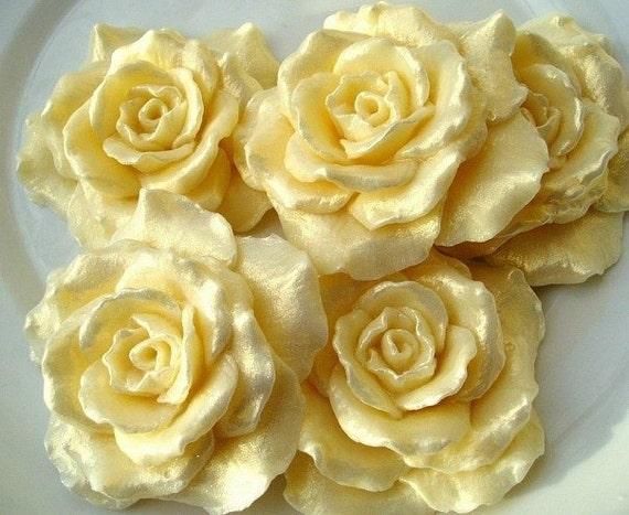 Силиконовая форма роза для мыла