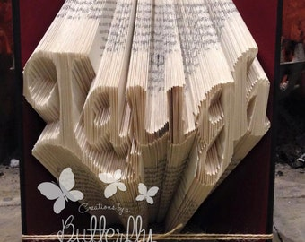 Book Folding Pattern 'Laugh' (282 Folds) PDF & Tutorial - Immediate Download