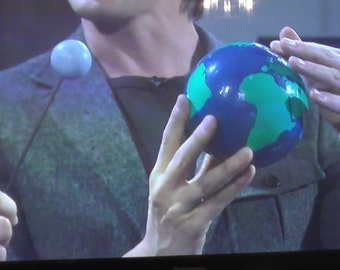 Hand painted globe -As featured on BBC Star Gazing Live!