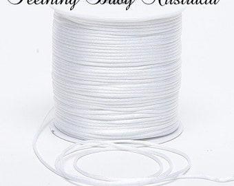 Nylon 2mm silk cord for DIY  beads necklace  necklace  pendants craft