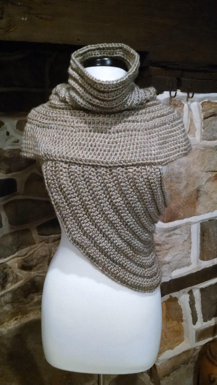 huntress crochet pattern katniss archers cowl vest